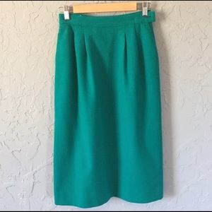 💐VINTAGE PENDLETON Fall Winter Wool Pencil Skirt